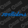 Decal-709Riders-2-rev-1col-blue