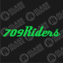 Decal-709Riders-2-rev-1col-green
