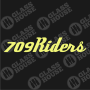 Decal-709Riders-2-rev-1col-yellow